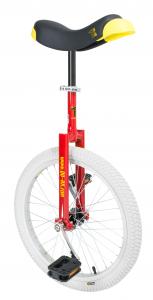 Qu-ax Luxus Einrad - mit weißem Reifen - 20 Zoll