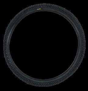 Qu-ax Reifen schwarz - 24 Zoll
