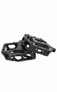 Qu-ax Cross Pedale Aluminium - schwarz