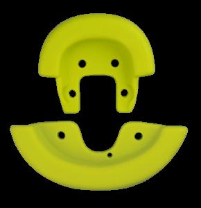 Qu-ax Sattelschutzecken - gelb - bis 2008