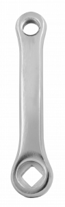 Qu-ax Vierkant-Kurbel aus Stahl