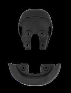 Qu-ax Sattelschutzecken - schwarz