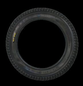 Qu-ax Reifen schwarz - 12 Zoll
