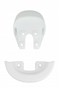 Qu-ax Sattelschutzecken - weiß