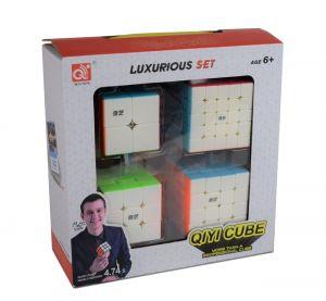 QiYi Geschenkbox - 2×2, 3×3, 4×4 und 5×5