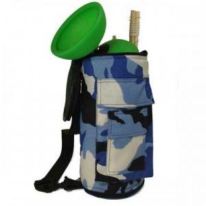 Diabolotasche Camouflage - blau