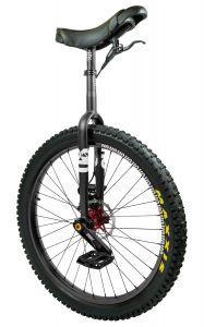 QX RGB Muni Einrad mit Scheibenbremse - schwarz- 27,5 Zoll