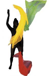 Henrys Jongliertuch 140 x 140 cm 100% Polyamid (groß)