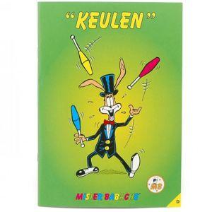 Mr. Babache Broschüre: Jonglieren mit Keulen