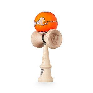 KROM Kendama X Jody Barton - Skeletons Orange