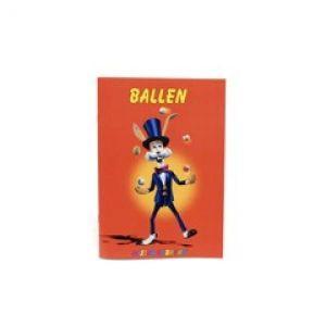 Mr. Babache Broschüre: Jonglieren mit Bällen (niederländisch)