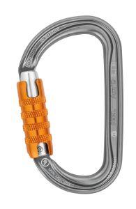 Petzl Am'D Twist Lock Karabiner - Aluminium D-Form