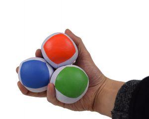 Set aus drei Profi Jonglierbällen - inklusive Box