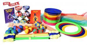 Zirkus Komplettpaket für Schulen - Basic - 30 Personen