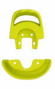 Qu-ax Sattelschutzecken mit Handgriff - gelb - bis 2008